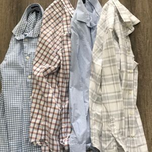 4 Banana Republic Men's Button down shirts